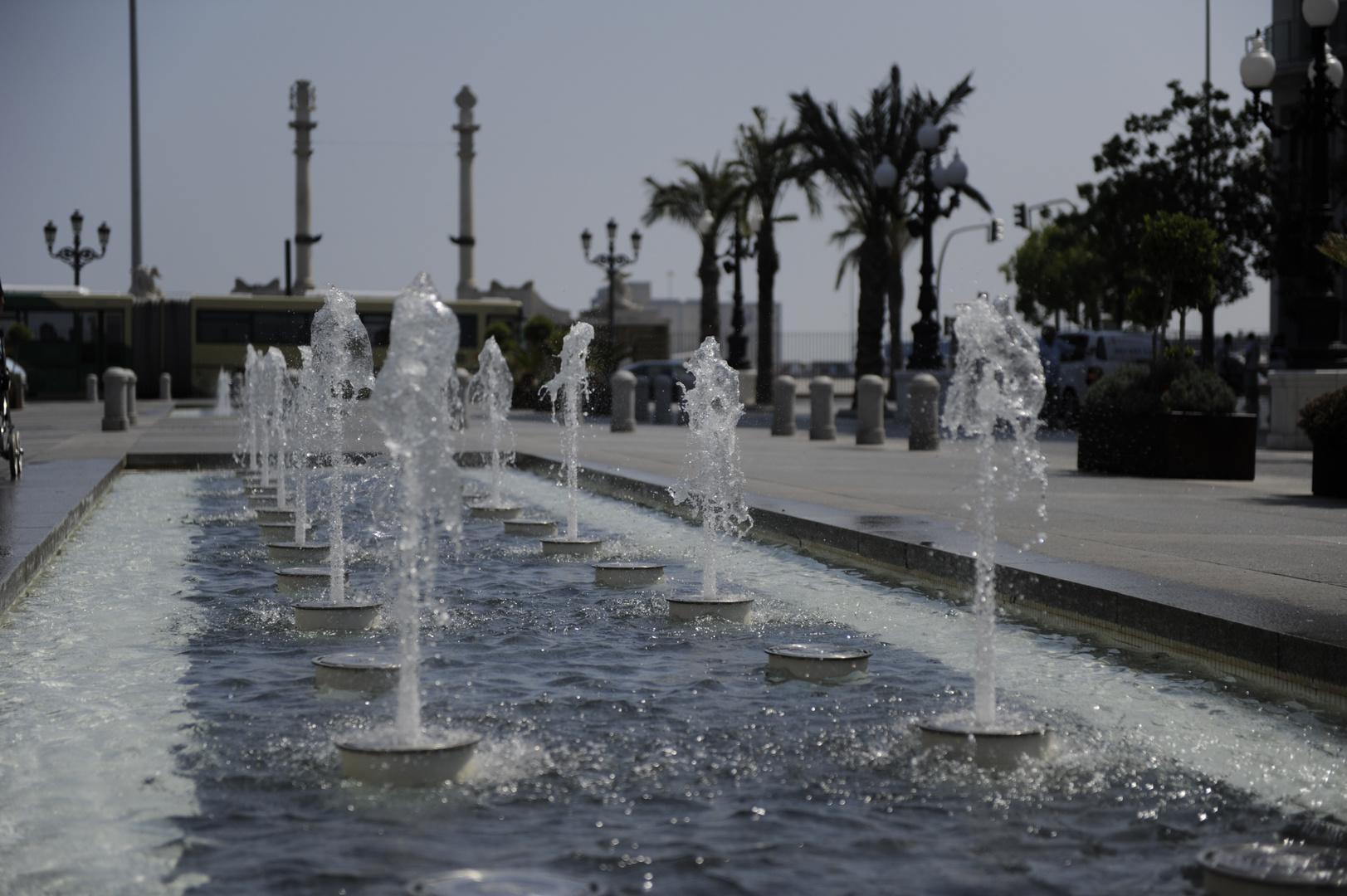 Brunnen in Cadiz