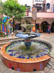 Brunnen in der Grünen Zitadelle