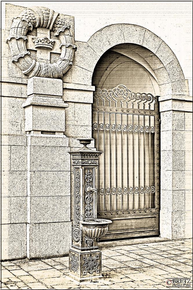 Brunnen in der Jesuitengasse