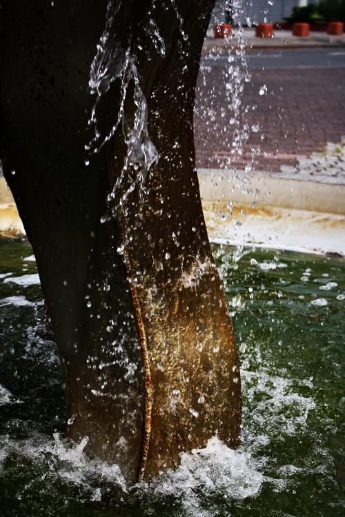 Brunnen in der Stadt