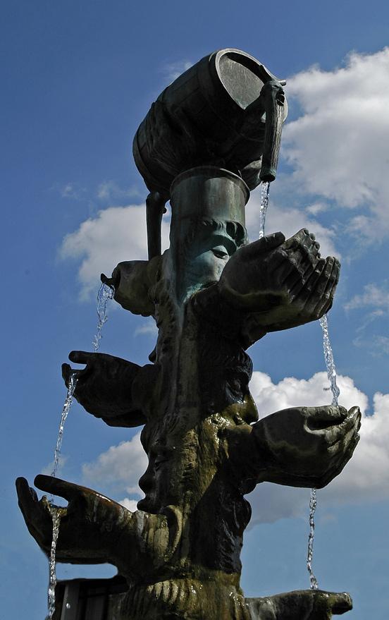 Brunnen in Lemgo