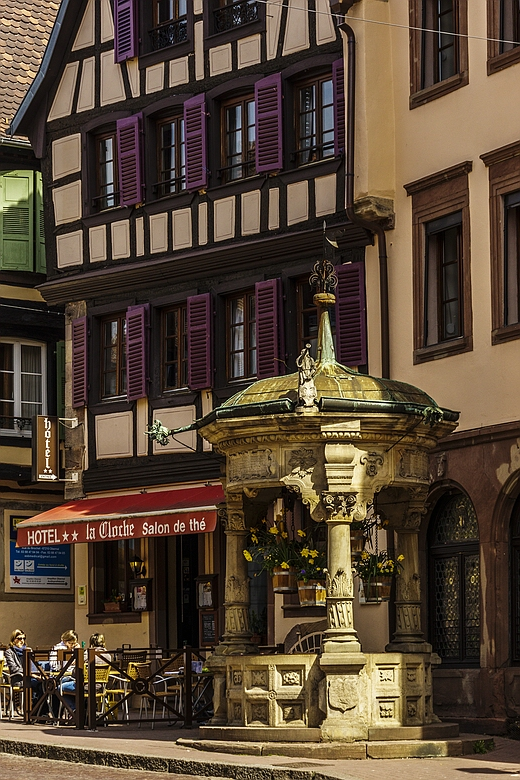 Brunnen in Obernai