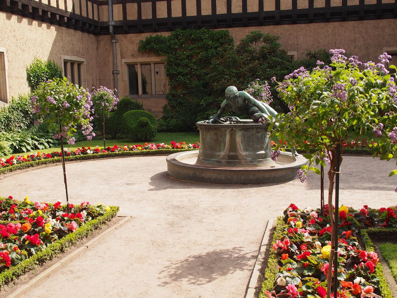 Brunnen in Schloss Cecilienhof