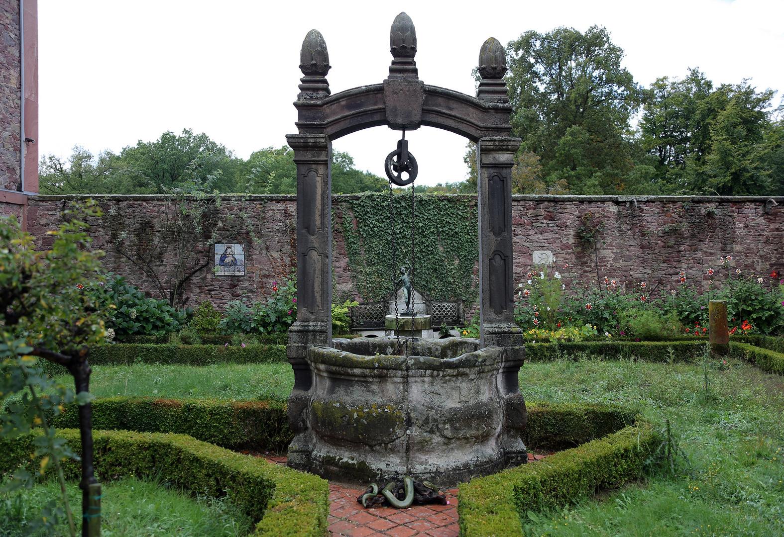 Brunnen in Wolfsgarten