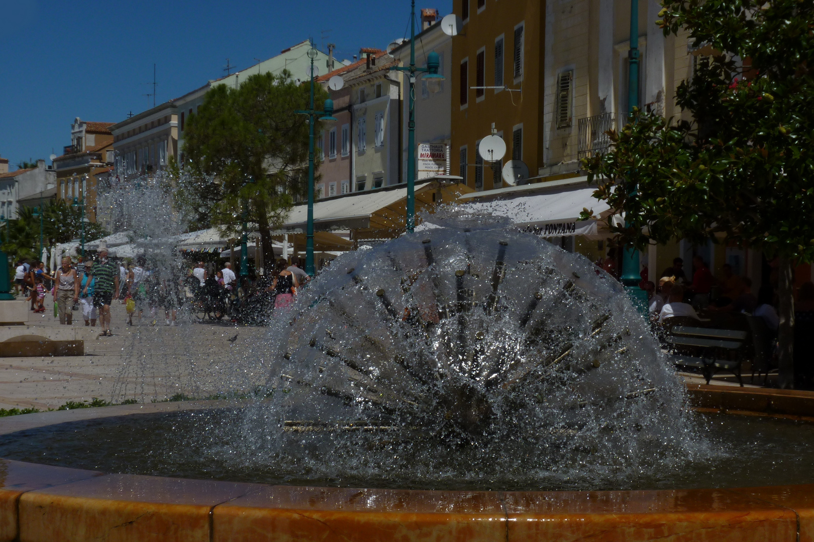 Brunnen Mali Losinj