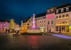 Brunnen meets Weihnachtsbaum