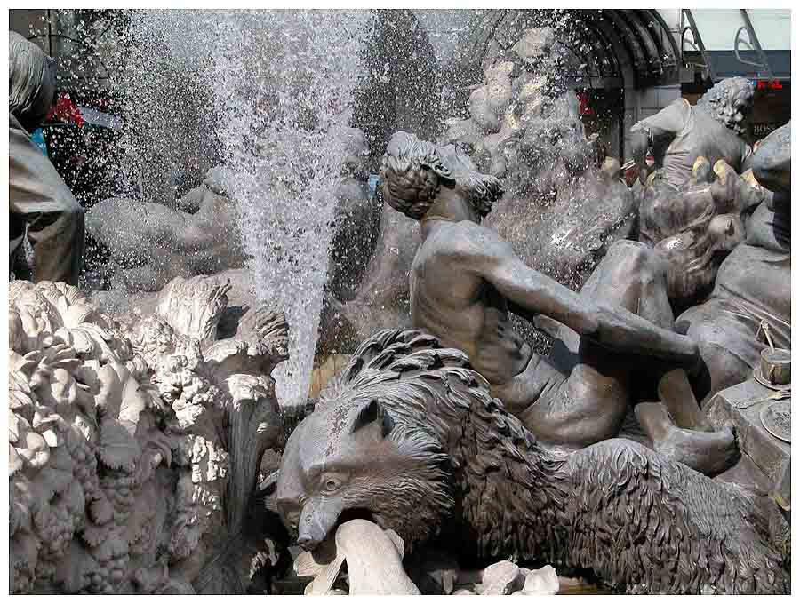 Brunnenausschnitt