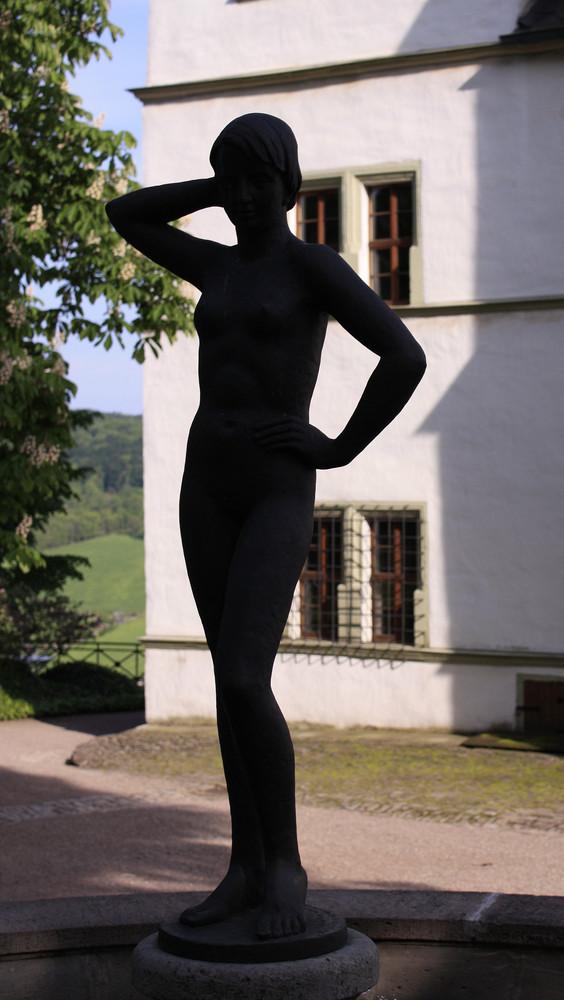 Brunnenfigur Dornburger Schlösser
