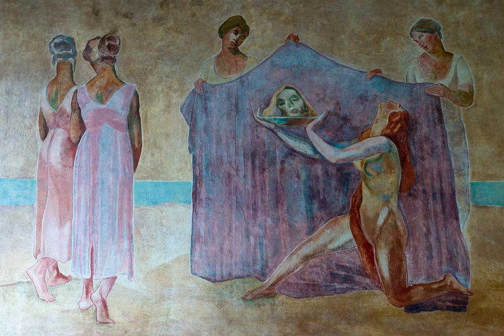 Brunnenmalerei