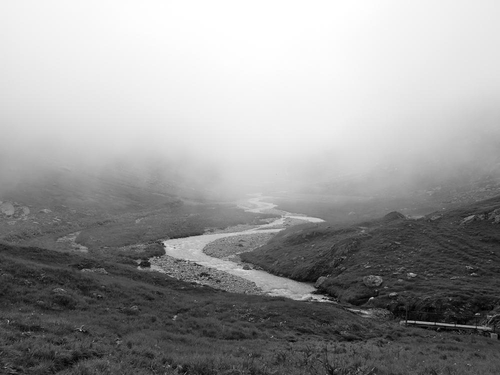Brunnital, Maderanertal, bei Nebel