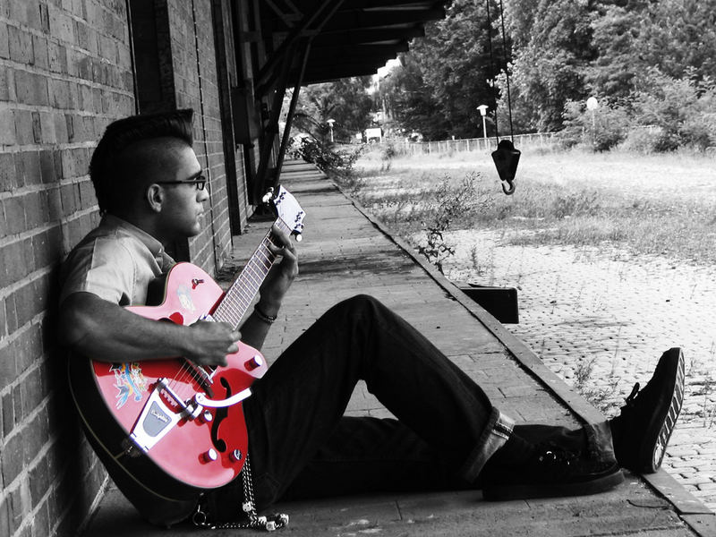 Bruno the rockabilly