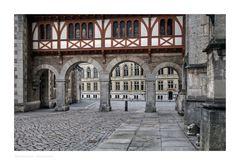 """Brunswick """" Blick vom Burgplatz, am Frühen Morgen """""""