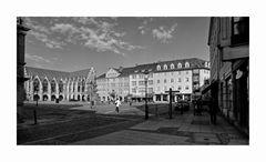 "Brunswick "" Blick, zum Altstadtmarkt, am morgen """