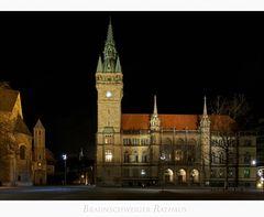 """Brunswick """" Blick zum Rathaus...."""""""