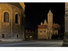 "Brunswick "" Blick zur Burg Dankwarderode...."""