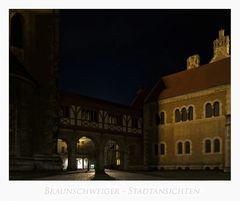 """Brunswick """" die Stadt des Heinrichs des Löwen, bei Nacht...."""""""