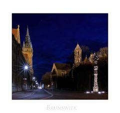 """Brunswick """" mit Blick zum Rathausturm... """""""