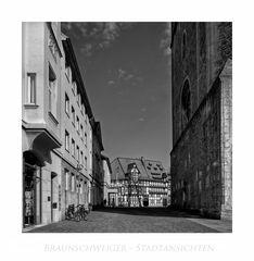 """Brunswicker - Impressionen """" Blick, zum Burgplatz..."""
