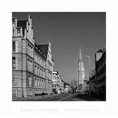 """Brunswicker - Impressionen """" Blick , zur St. Katharinen Kirche """""""