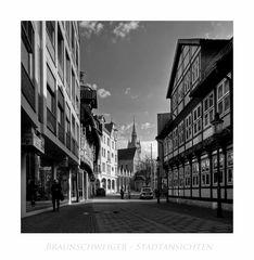 """Brunswicker - Impressionen """" der Blick , zum DOM und dem Rathaus... """""""