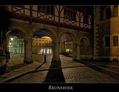 """Brunswiek """" die Stadt des Heinrichs des Löwen, bei Nacht...."""""""