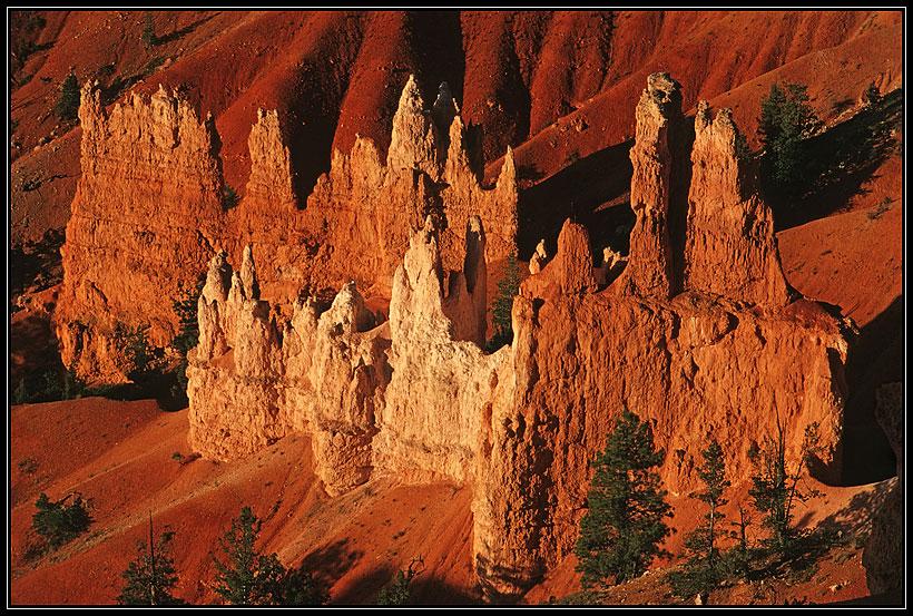 Bryce Canyon bei Sonnenaufgang - Detail
