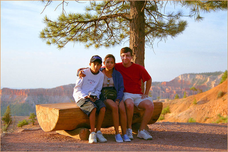 Bryce Canyon My family