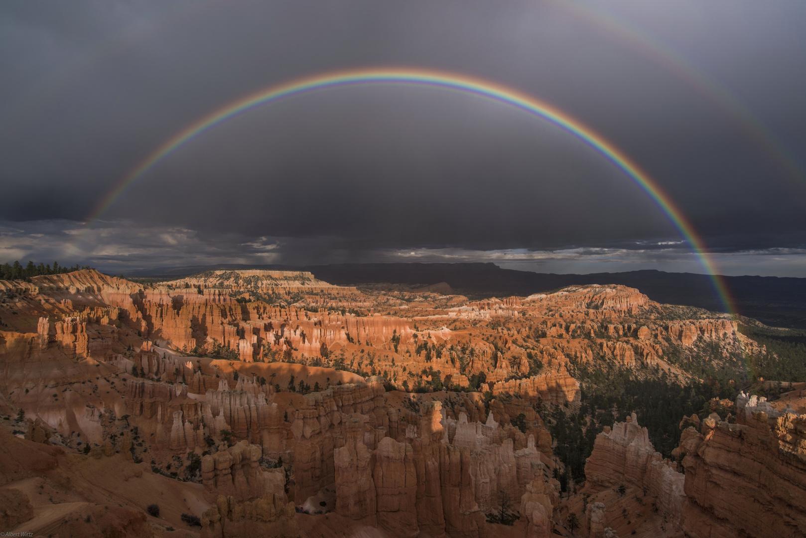 *Bryce Canyon unter dem Regenbogen*