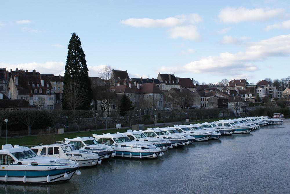Bâteaux sur le canal