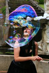 Bubbles mit Durchblick