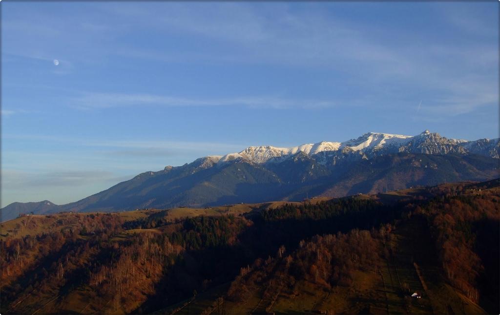 Bucegi mountains landscapes