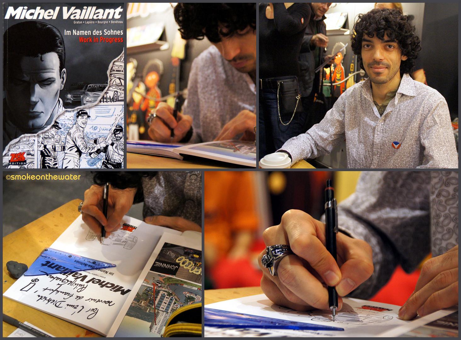 Buchmesse 2012: Benjamin Benéteau