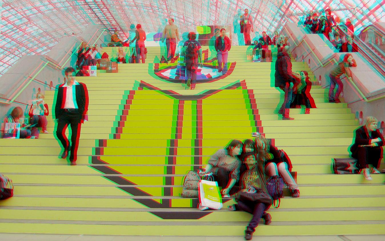 Buchmesse Leipzig 2010 (3D-Foto 2)