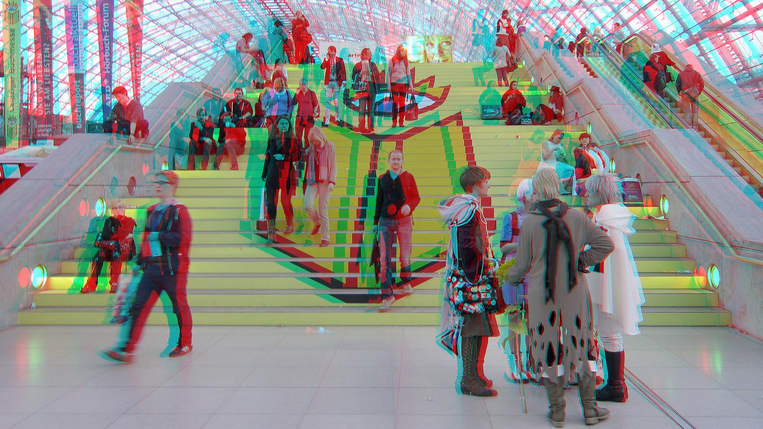 Buchmesse Leipzig 2014 (3D-Foto 08)