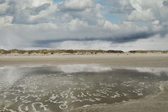 Buchstabensuppe am Texelstrand