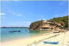 Bucht bei Kuta/Lombok