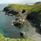 Bucht bei Tintagel, Cornwall