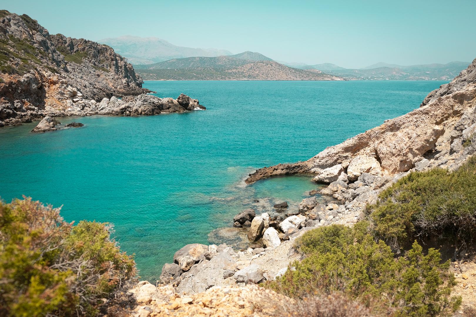Bucht in Kreta