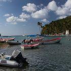 Bucht in St. Lucia