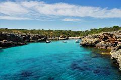 Bucht mit Strand von Mallorca