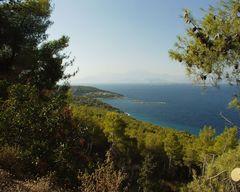 Bucht Straba vom Berg aus