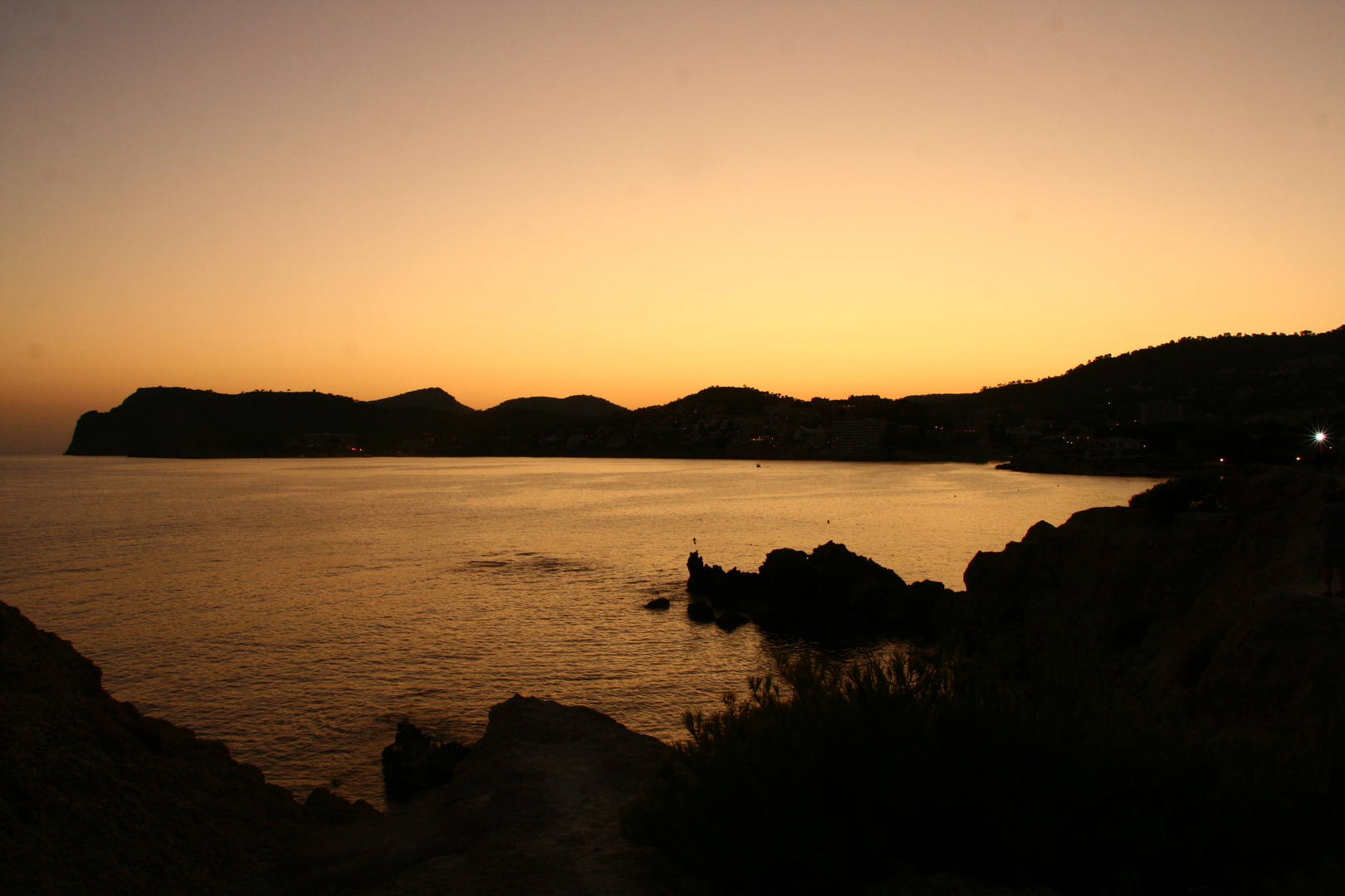 Bucht von Paguera - Abendstimmung