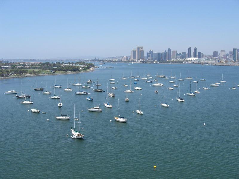 Bucht vor San Diego