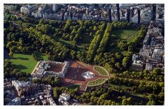 Buckingham Palace from Air