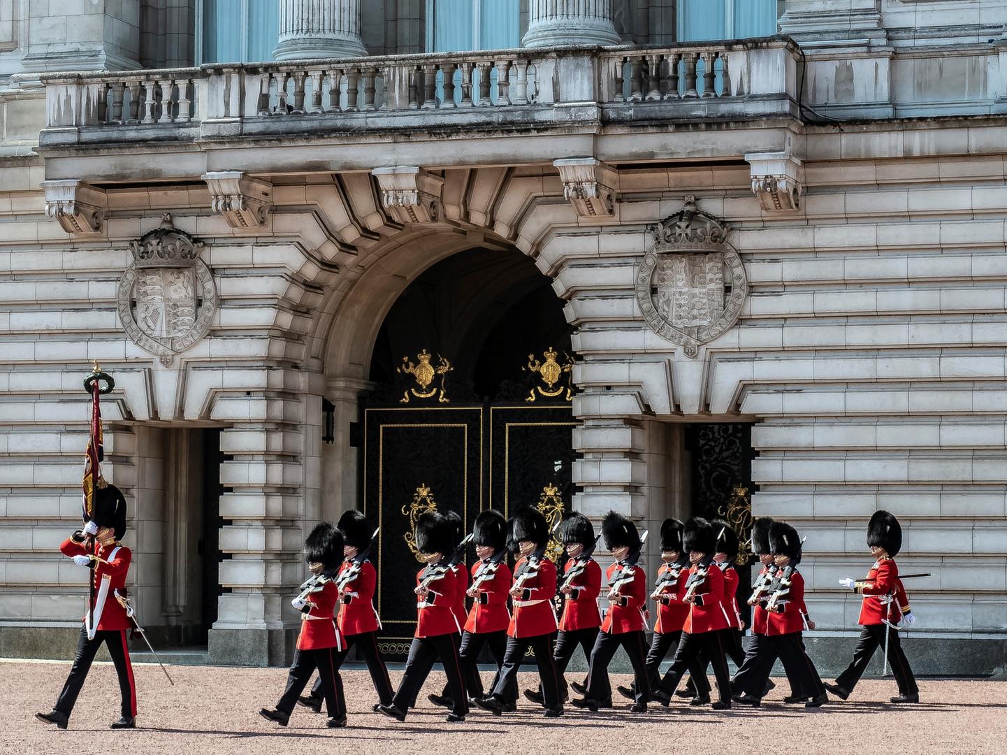 Buckingham Palace - London - Cambio della Guardia