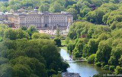 Buckingham Palace von oben