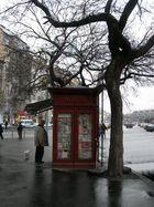 Budapest, Graupelwetter im November