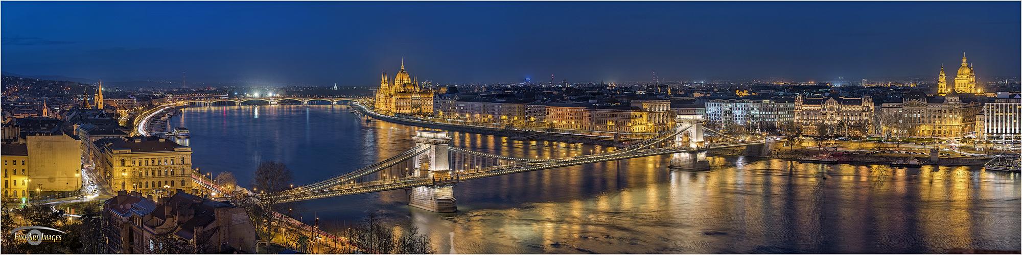 Budapest im Panorama