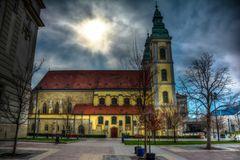 Budapest - Kirche am Franziskaner-Platz