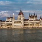 Budapest  -Regierungspalast-